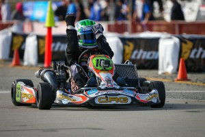 Robert Marks celebrates his first S4 Master victory in four years (Photo: DromoPhotos.com)