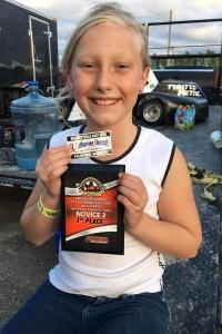 Hana Rothwell's 3rd win of 2016