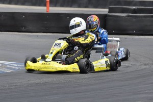 Erik Jackson notched the victory in X30 Master (Photo: KartRacerMedia.com)