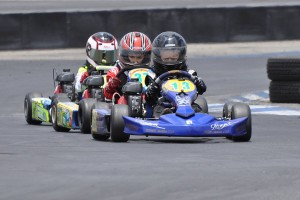 Logan Chambers swept the day in Kid Kart (Photo: KartRacerMedia.com)