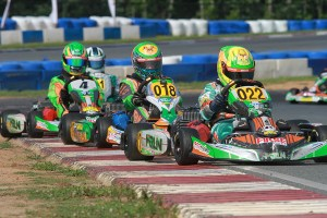 Merlin chassis has a stranglehold on the Junior ranks at USPKS (Photo: EKN)