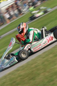 Ryan Norberg left New Castle as the championship leader in X30 Senior thanks to his three total wins in 2016 (Photo: EKN)