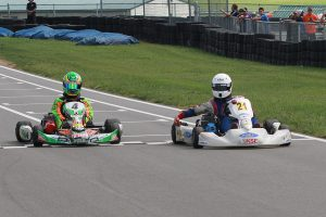 An emotional first win for Aidan Harrington, carrying the #21 for fellow racer Andrew Palmer (Photo: EKN)