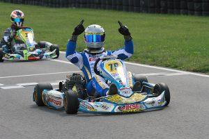 Dakota Pesek came out the winner in Yamaha Pro, celebrating the championship as well (Photo: EKN)