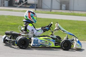 SKUSA Pro Tour point leader Dante Yu is vying to become a second American to win at the IAME international Final (Photo: EKN)