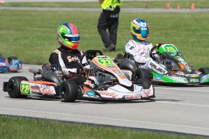 Austin Wilkins leads Kyle Kalish in the SKUSA Pro Tour S2 standings (Photo: EKN)