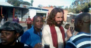 Jesus SPOTTED in Pretoria - PHOTOS