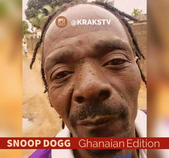 Picture of the DAY - Snoop Dogg Ghanaian Edition
