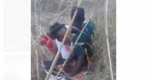 Man and Woman caught having sex