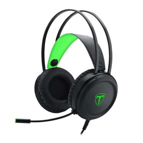 T-DAGGER URAL GAMING HEADSET – BLACK/GREEN