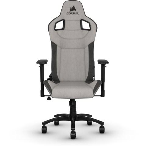 Corsair T3 RUSH Gaming Chair - Gray/Charcoal