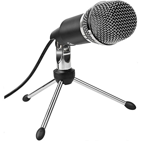 Fifine K668 Microphone with Tripod – Black