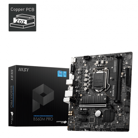 MSI B560M-A PRO Gaming Motherboard