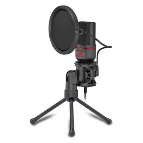 Redragon Seyfert Gaming Microphone and Tripod – Black