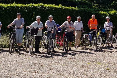 Fahrrad- und Wandergruppe wieder aktiv