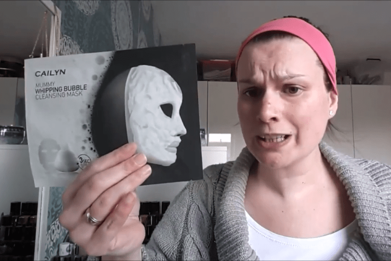 Eke's experiences: Bubble Mask en mini-shoplog Kruidvat
