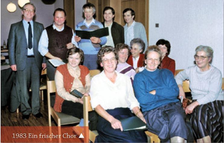 Kirchenchor 1983
