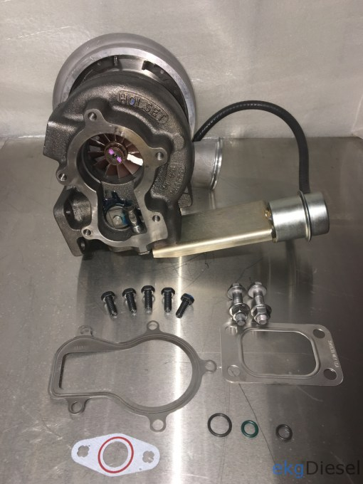 turbo upgrade kit Cummins Holset hx35w turbo