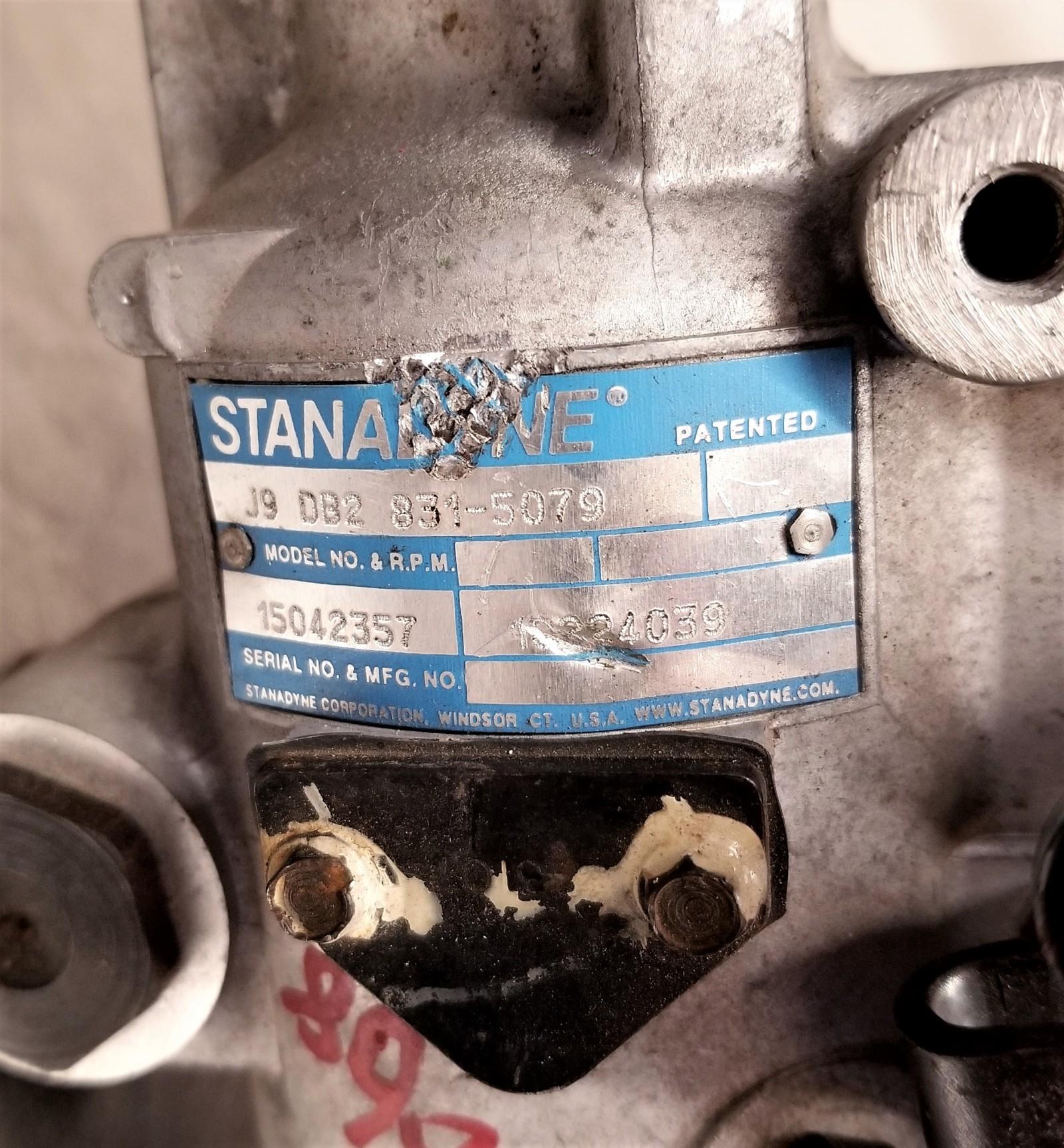 J9DB28315079 GMC 6.2L Diesel Stanadyne Injection Pump