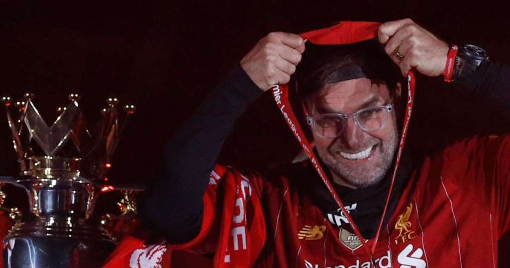 Liverpools Jurgen Klopp named LMA Manager of the Year.img