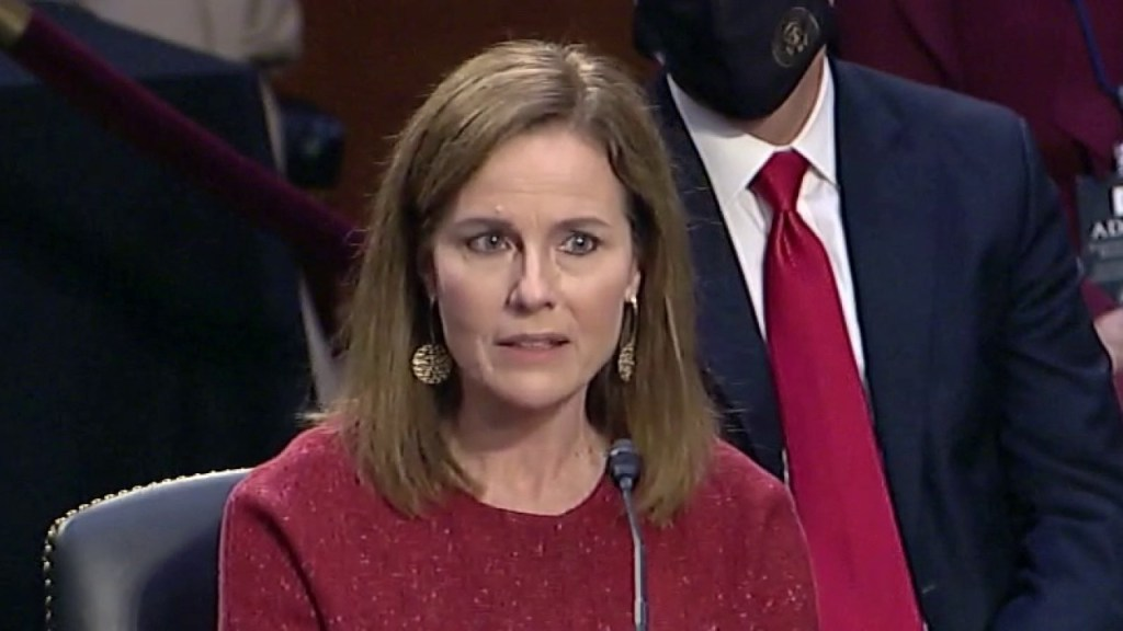 6 key moments from day two of Amy Coney Barrett's confirmation hearing