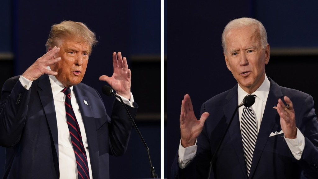 Biden pushes for town hall format for final debate, after Trump says he'll skip 'virtual' showdown