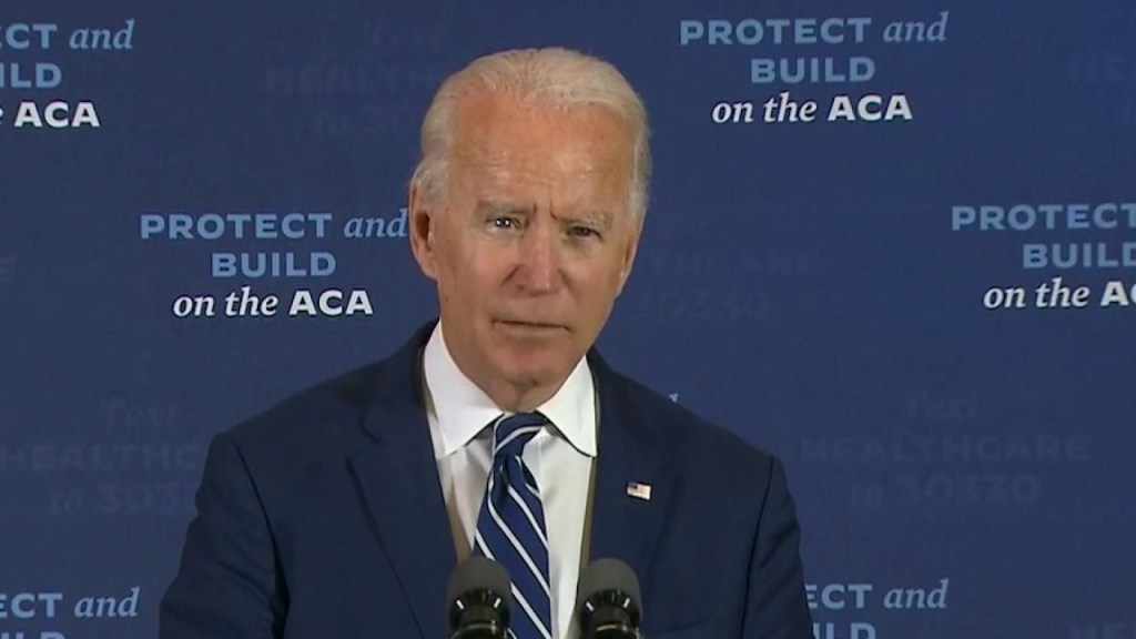 Biden will 'make clear' his position on court packing after Senate votes on Amy Coney Barrett