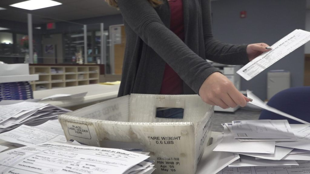 Critical swing states could take longer to count mail-in ballots