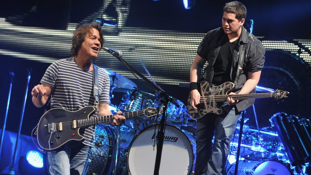 Eddie Van Halen's son Wolf shares moving video of the late star saying he'd 'love to jam' with his dad 'again'