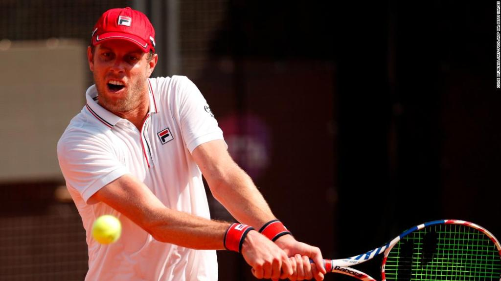 Sam Querrey: US tennis player accused of fleeing Russia after testing positive for coronavirus