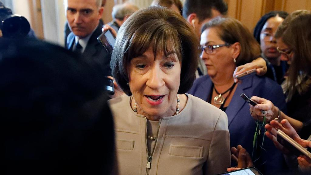 Susan Collins, last vestige of New England GOP representation in Congress, fighting for political life