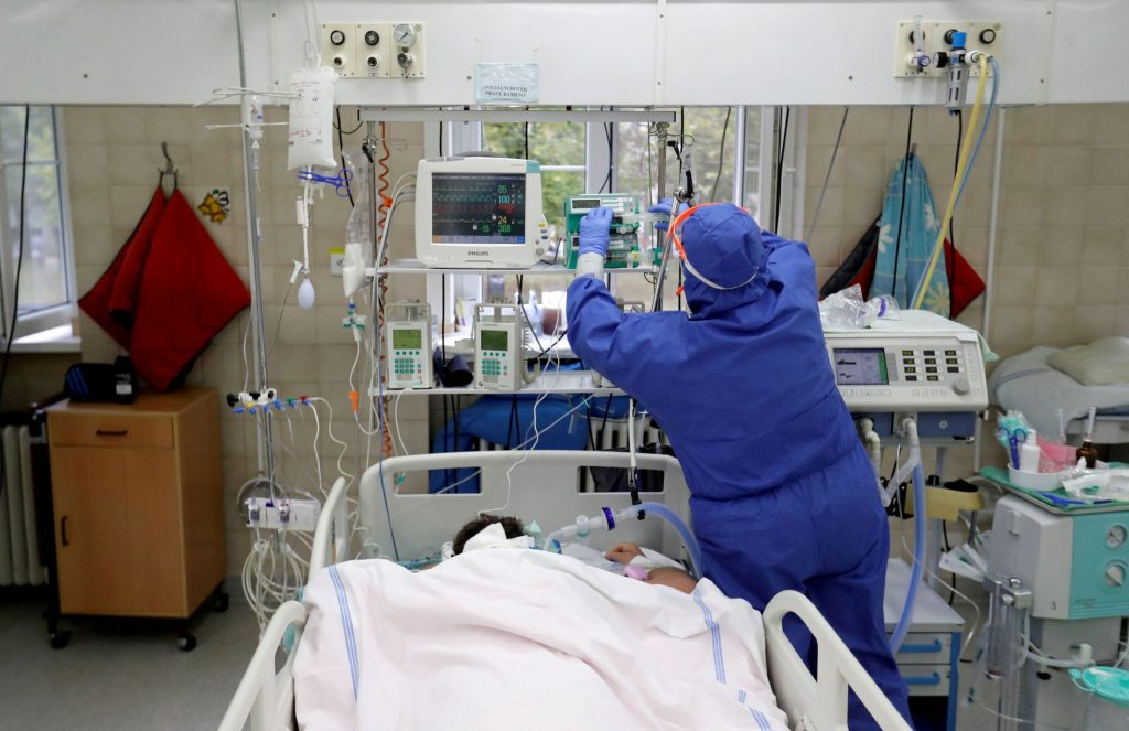 WHO frets Europe's ICU beds are nearing capacity in some areas