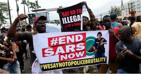 drama as endswat protesters storm national assembly complex in abuja