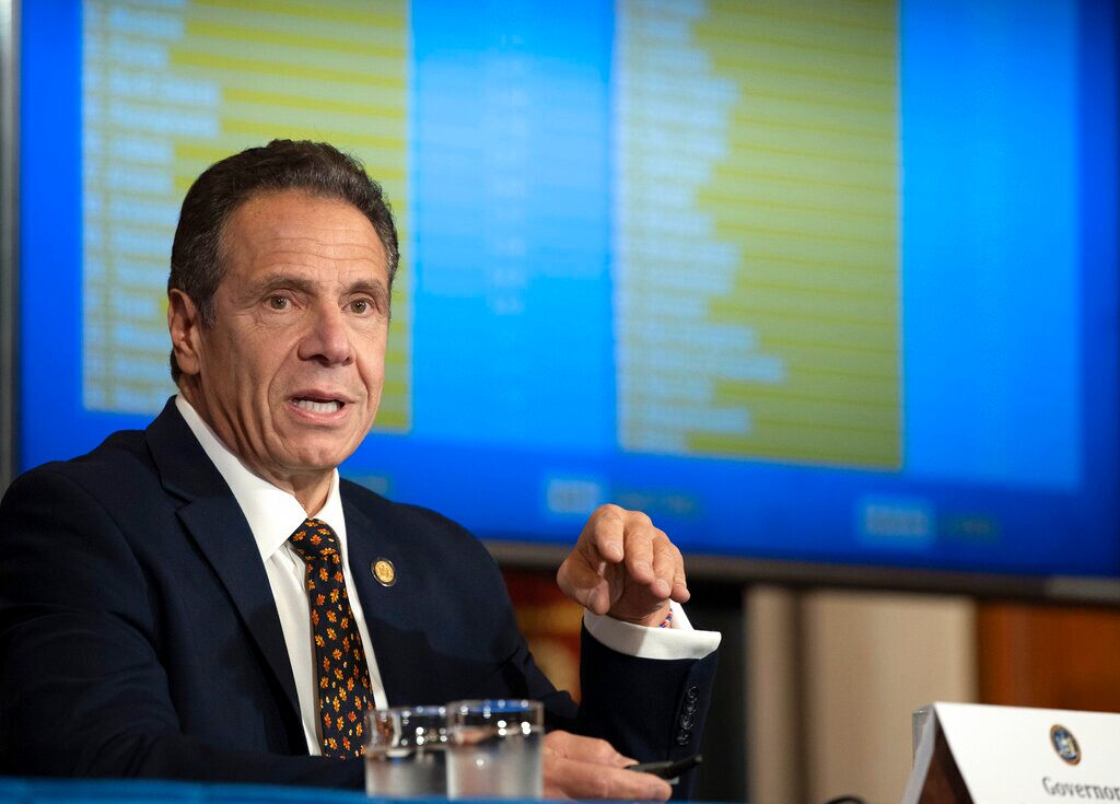 Cuomo swipes at Trump after president threatens to withhold vaccine from NY