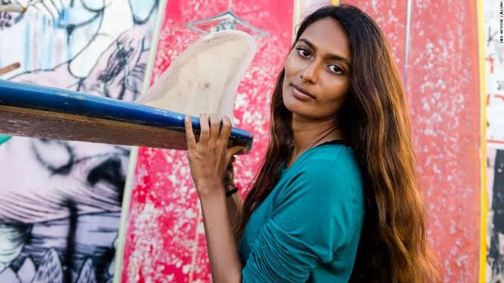 Ishita Malaviya: India's first female surfer is changing her country's perception of the ocean