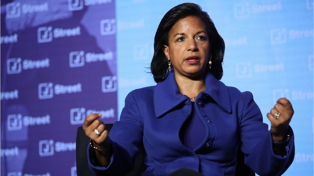 Susan Rice 'very open' to joining Biden administration