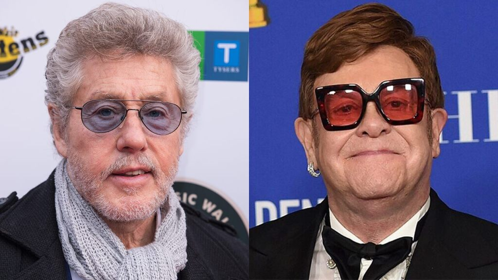 The Who's Roger Daltrey calls out Elton John for allegedly not responding to calls for charity events