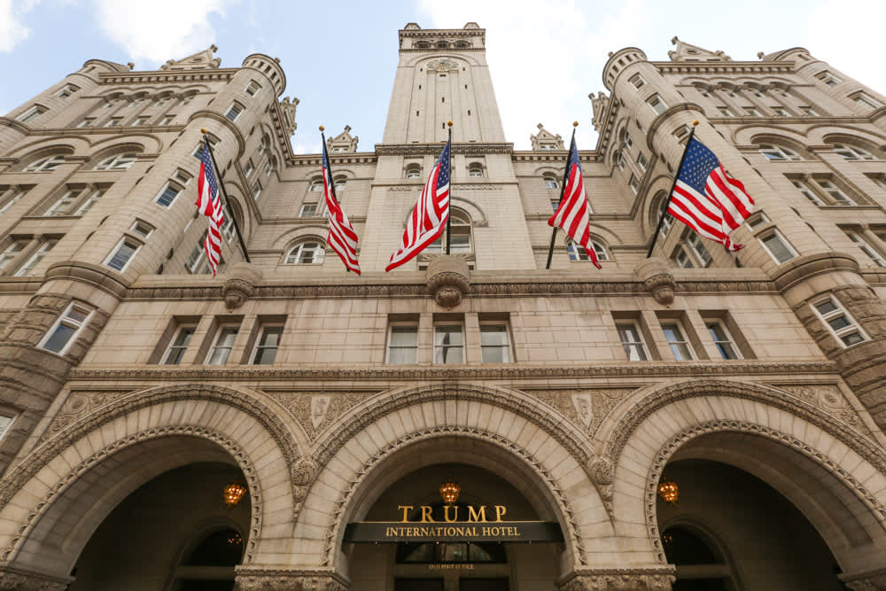 Trump International Hotel Washington DC sale put on indefinite hold