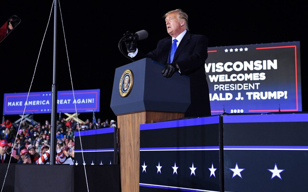 Trump campaign filing for partial Wisconsin recount, challenging Biden victory