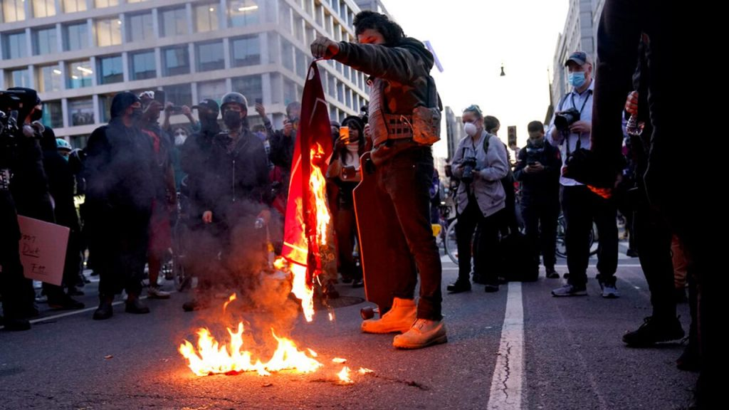 Violence mars 'MAGA March' in DC as Antifa, BLM counterprotesters lash out