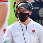 Callie Brownson of the Cleveland Browns is first female position coach in NFL game