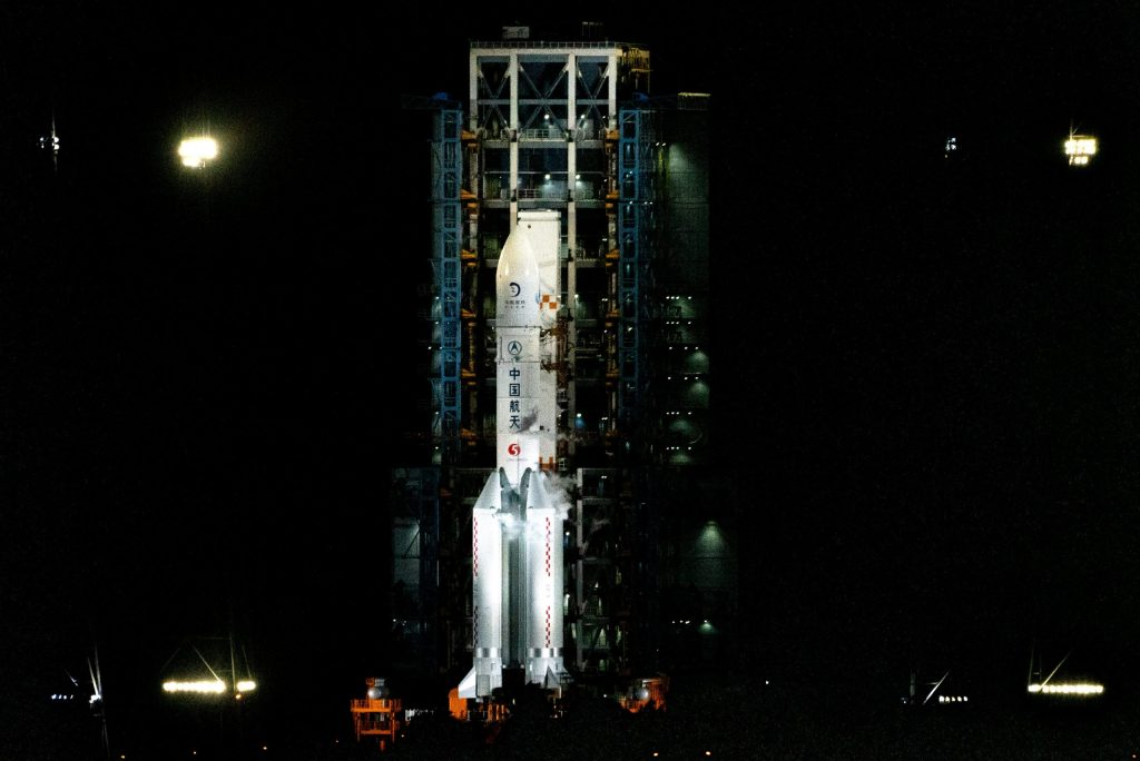 China spacecraft is returning to Earth with moon samples in a first