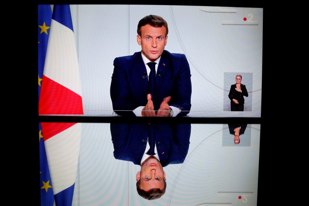 France's Macron lays out a vision for European 'digital sovereignty'