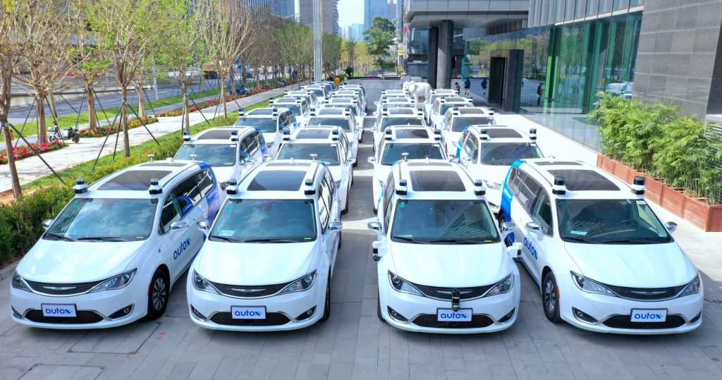 Fully driverless cars are being tested in China for the first time
