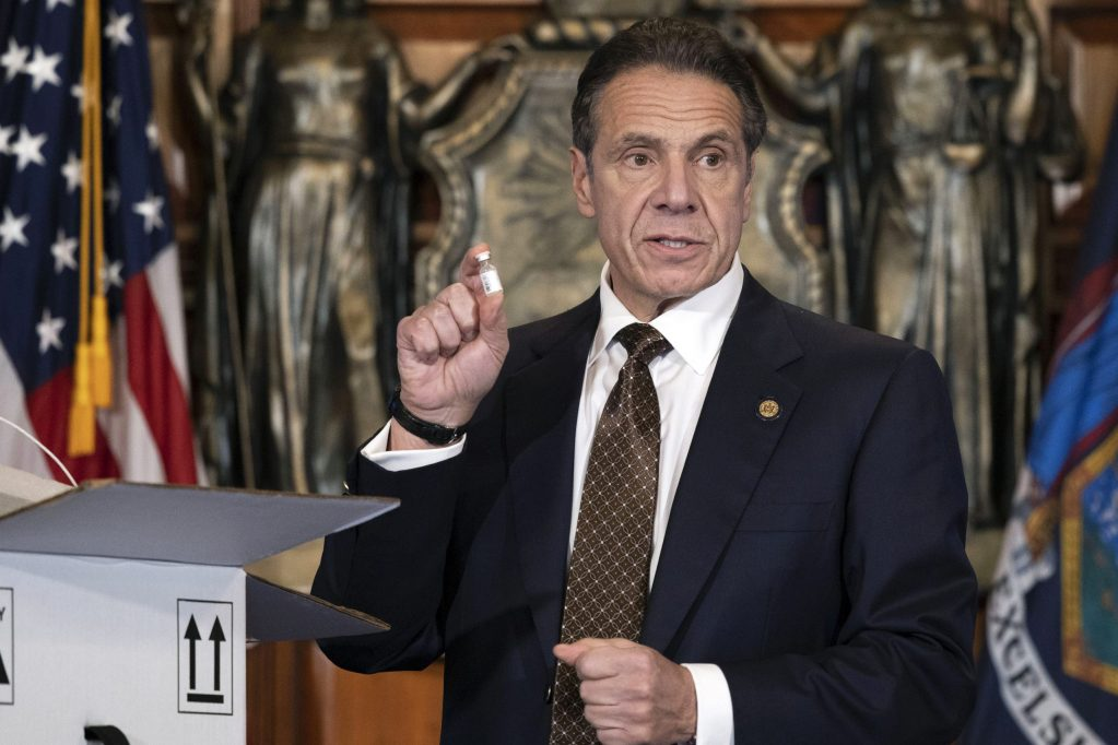 Gov. Andrew Cuomo throwing virtual birthday party to raise campaign cash