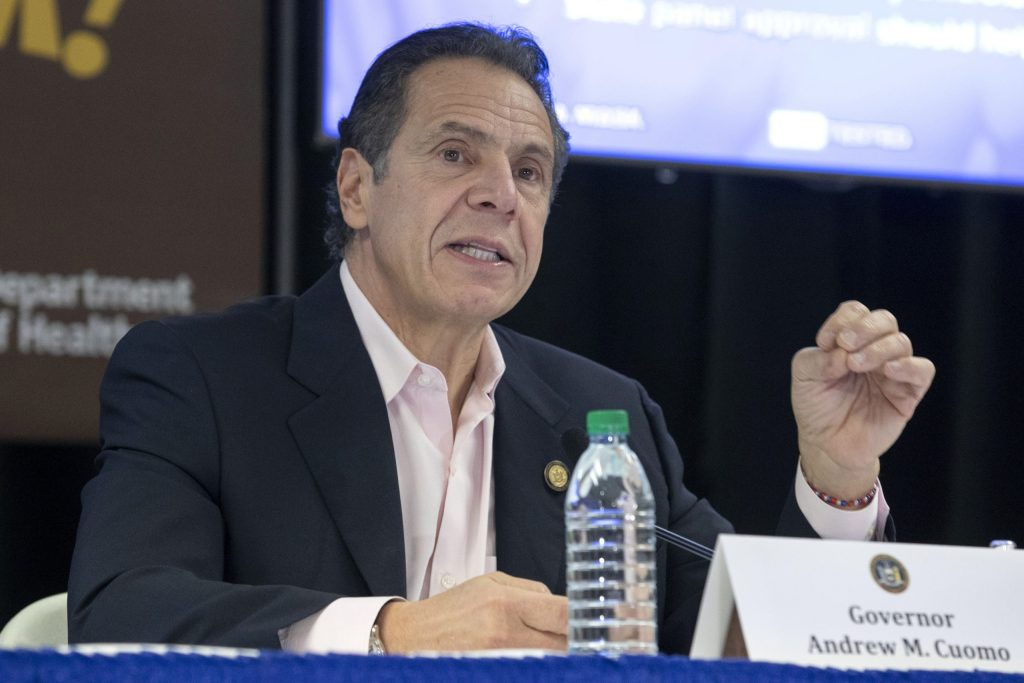 NY Gov. Cuomo among contenders for Biden attorney general