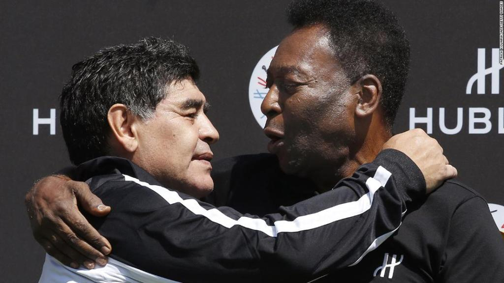 Pele pays new emotional tribute to the 'incomparable' Diego Maradona