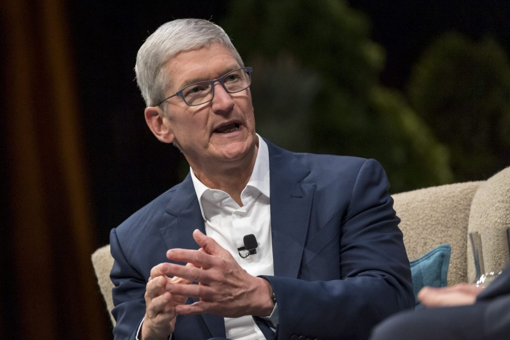 Apple CEO Tim Cook says nobody involved in Capitol insurrection is above the law