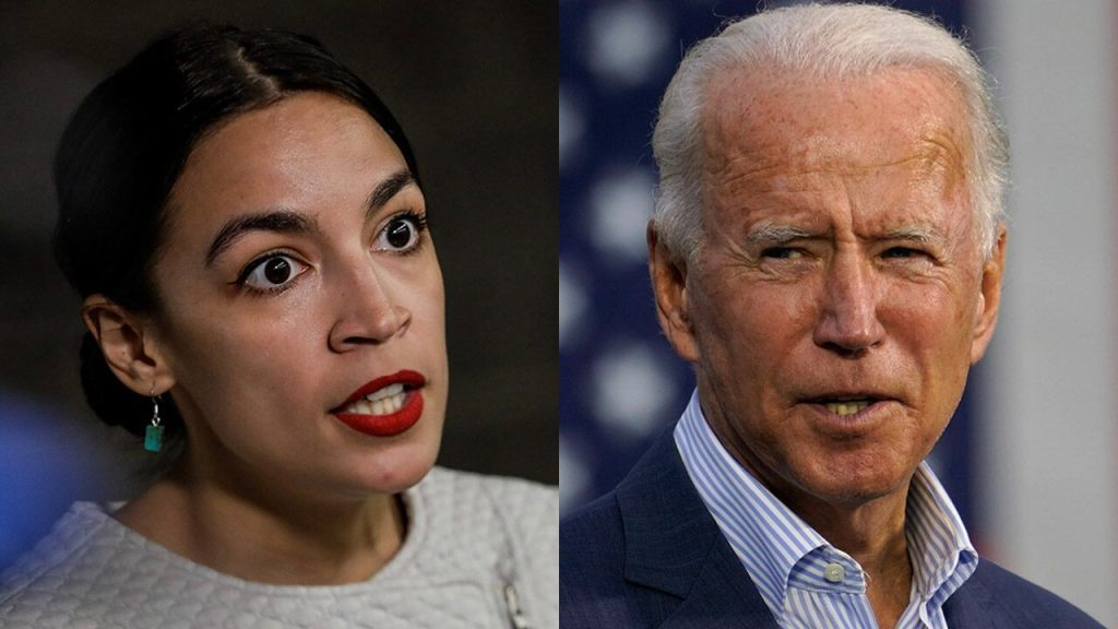 Biden just announced his stimulus plan — and AOC already has a problem with it