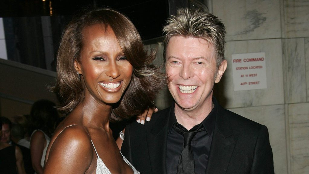 David Bowie's wife Iman says she'll 'never' marry again after death of her 'true love'